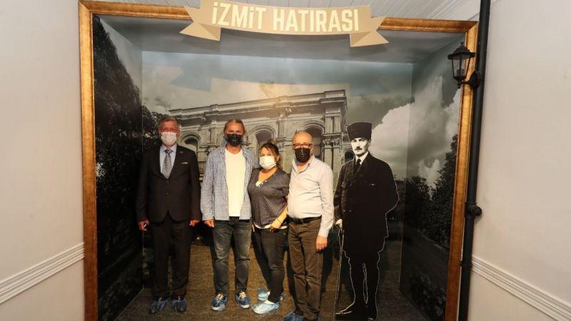 Kaan Dobra ve eşi Sylvia Dobra  Atatürk Müzesi'ne hayran kaldı