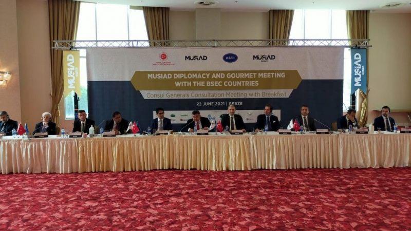 MÜSİAD KEİ Diplomasi Toplantısı Kocaeli'de gerçekleştirildi