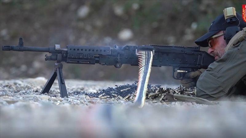 Jandarmaya yeni makineli tüfek