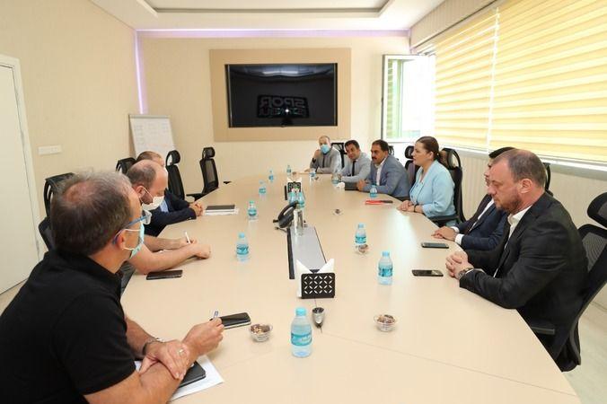 Hürriyet  Spor İstanbul A Ş ile  sportif aktiviteleri görüştü