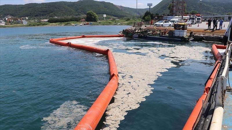 Marmara Denizi'nden toplam 6 bin 159 metreküp müsilaj temizlendi