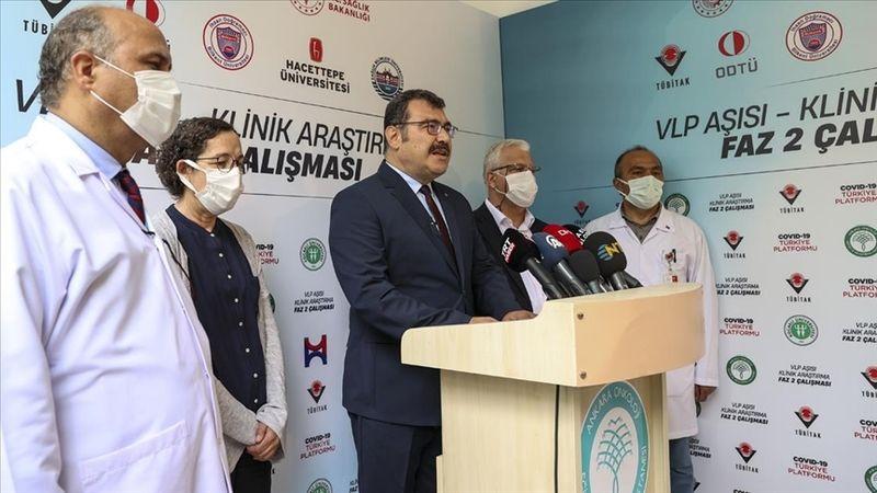 VLP temelli yerli Kovid-19 aşısı Faz-2 aşamasında gönüllülere uygulanmaya başlandı