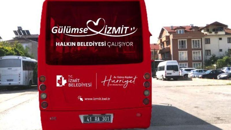 İzmit Belediyesi ücretsiz ring servisiyle  öğrencileri YKS'ye götürecek