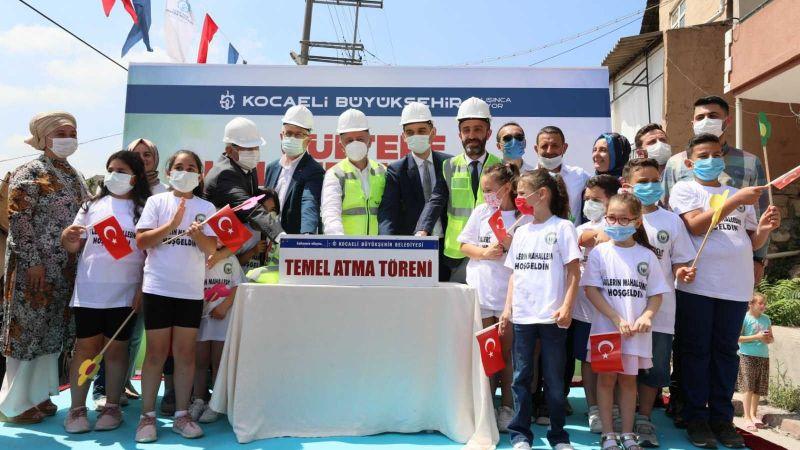 Yenidoğan Kültür Merkezi'nin temeli atıldı
