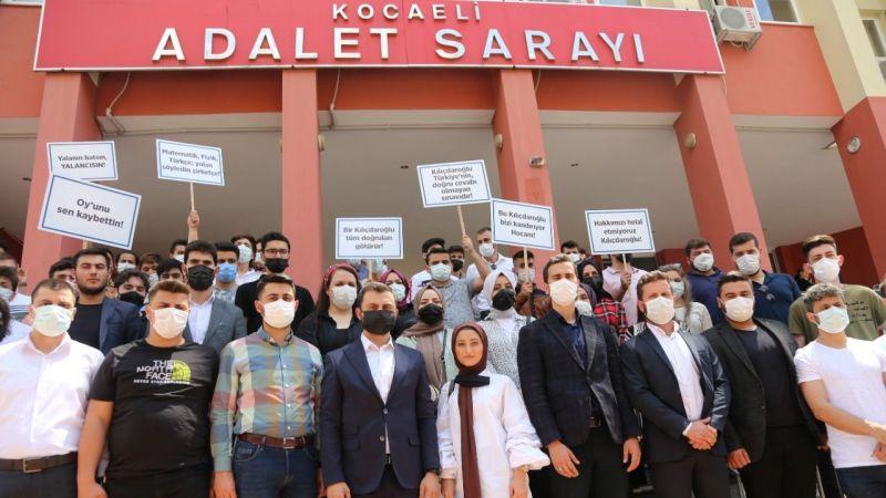 """Lise öğrencileri Kılıçdaroğlu hakkında suç duyurusunda bulundular """"Ak Gençler destek verdi"""""""