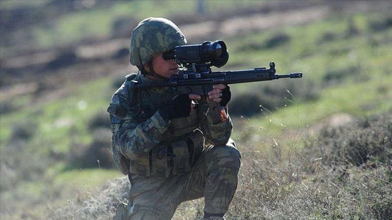 Barış Pınarı bölgesine sızmaya çalışan 2 PKK/YPG'li terörist etkisiz hale getirildi