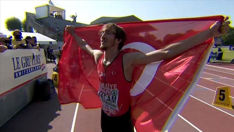 Milli atlet Berke Akçam, Avrupa şampiyonu oldu