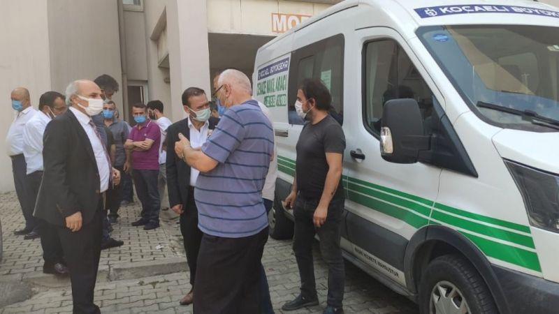 Eski damadı tarafından bıçaklanan Kocaeli Gümüşhane Dernekler Federasyonu Başkanı Süleyman Olgun öldü