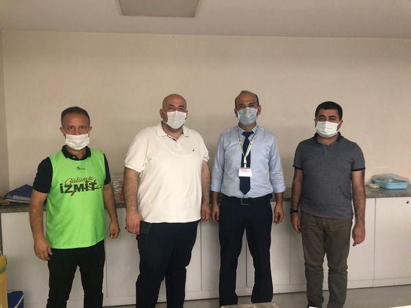 İzmit Belediyesi  Kurban Bayramı'nda  sağlık çalışanlarını unutmadı