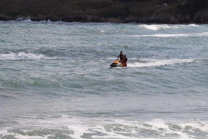 Bağırganlı'da denizde kaybolan genç aranıyor