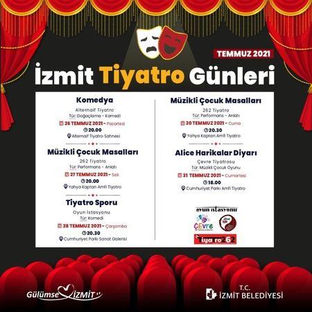 İzmit Belediyesi Tiyatro Günleri ile  yerel tiyatroculara sahip çıkıyor