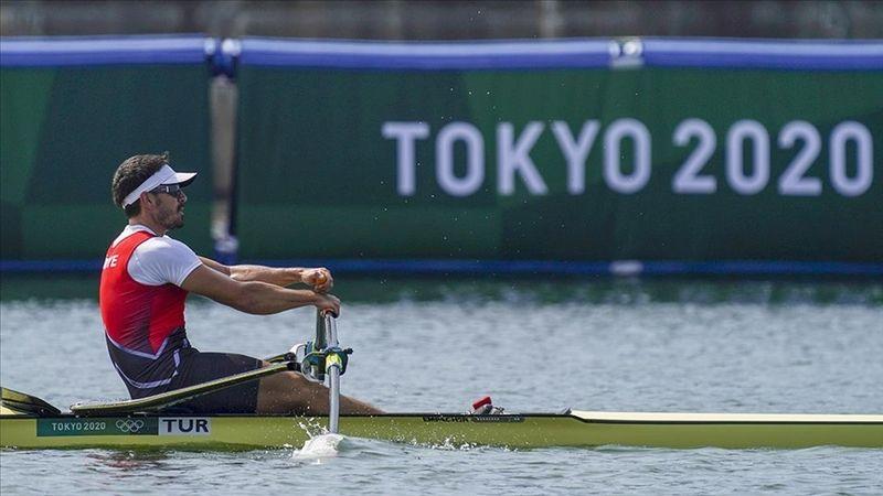 2020 Tokyo Olimpiyat Oyunları'nda milli kürekçi Onat Kazaklı çeyrek finale çıktı