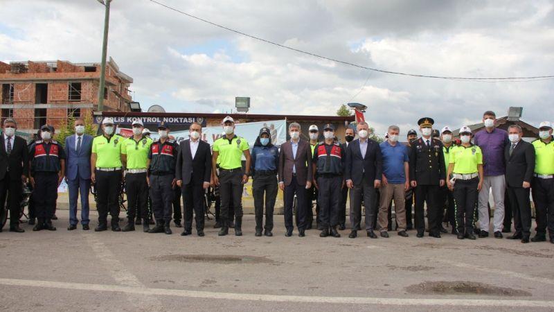 İçişleri Bakan Yardımcısı İnce, Kocaeli'de trafik denetimlerine katıldı