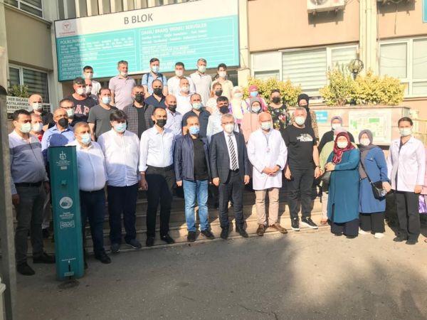 AK Parti Kocaeli teşkilatından aşı çalışmalarına destek