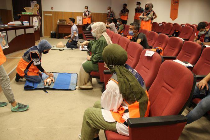 3. Grup AFAD Gönüllüsü Yüz Yüze Eğitimi Tamamlandı