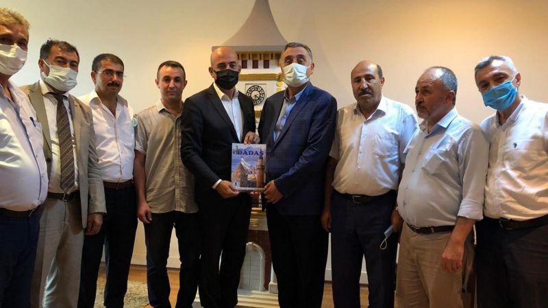 Kocaeli Erzurumlular Kültür ve Dayanışma Vakfından İKK'ya ziyaret