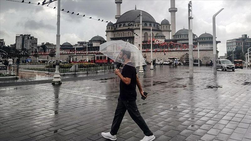 İstanbul, Kocaeli, Sakarya ve Yalova çevrelerinde sağanak bekleniyor