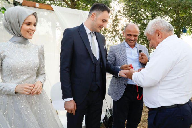 Enes ve Merve nişanlandı