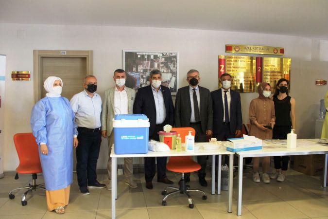 KOTO'nun öğrencilerinden aşı kampanyasına tam destek