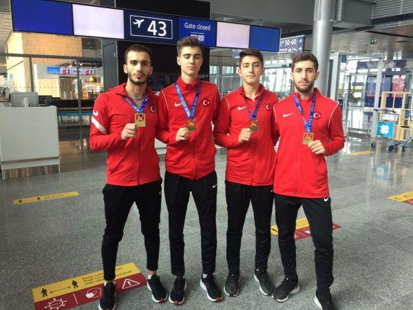 Karateciler Avrupa Şampiyonu