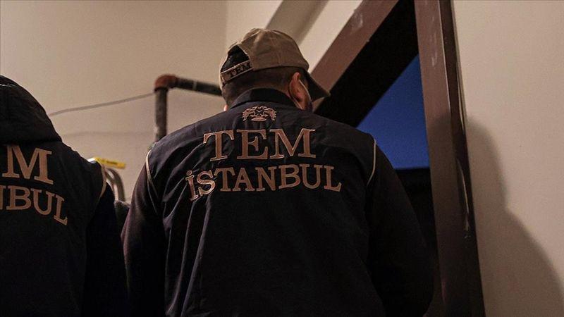 Turuncu kategoride aranan terörist İstanbul'da saklandığı ikamette yakalandı
