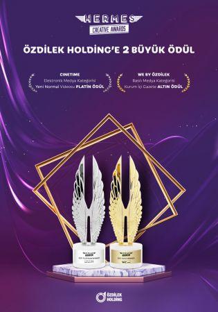 Hermes Creative Awards'ten Özdilek Holding'e İki Büyük Ödül
