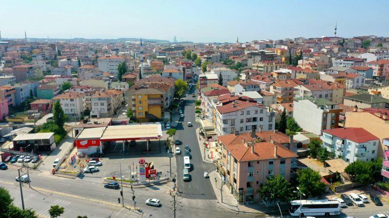 Darıca Aşıroğlu Caddesi'nde son kat asfalt serildi