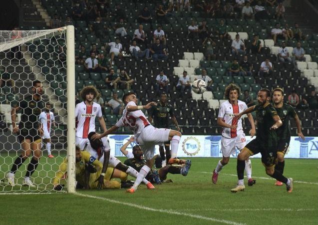 Kocaelispor: 1 - Yılport Samsunspor: 0 (İlk yarı)
