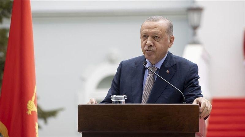 Cumhurbaşkanı Erdoğan: Türkiye ve Karadağ barış ve istikrara ciddi katkılar sağlıyor