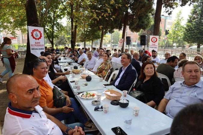 İzmit Belediyesi Üst Kadrosu Alevi Kültür Dernekleri ile kahvaltıda buluştu