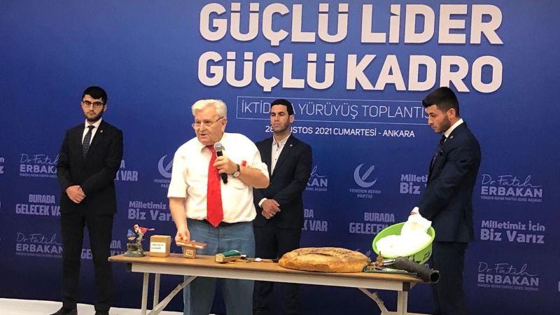Aras Ankara'da konuştu