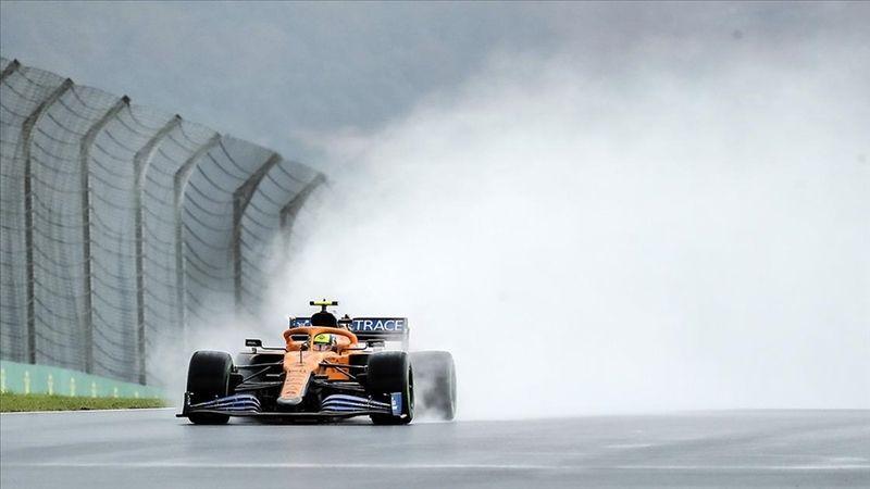 F1 Belçika Grand Prix'sine yağmur engeli
