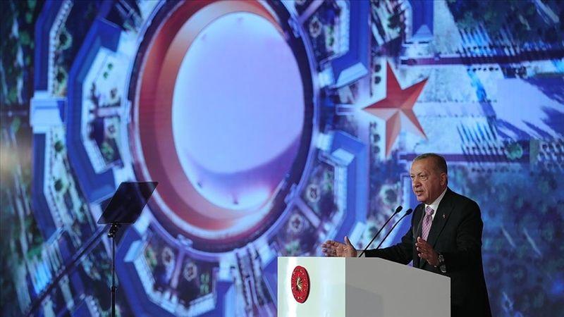 Erdoğan: Ay Yıldız Projesi ile düşmana korku, dosta güven veren bir yapıyı meydana getirmiş olacağız