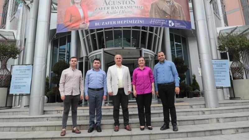 Hürriyet  İncirliova Belediye Başkanı Aytekin Kaya'yı ağırladı