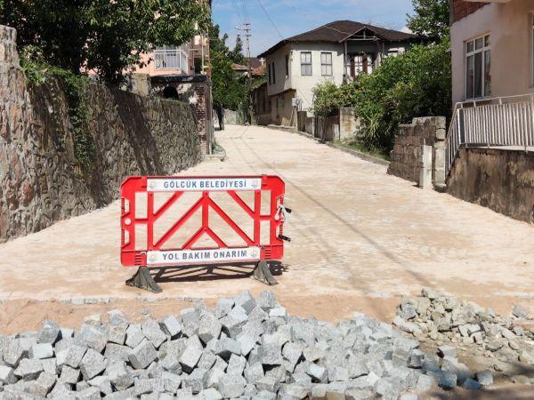 Örcün'de yol ve müze çevresi meydan düzenlemesi çalışması başladı