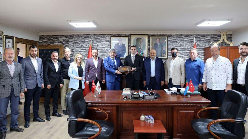 KOTO'dan, MHP'nin Yeni İl Başkanı Kurt'a 'hayırlı olsun'