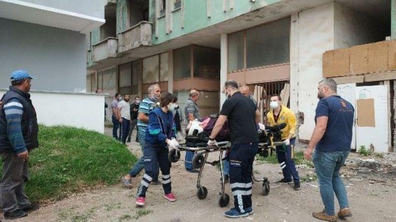 5 katlı binadan düşen kadın hayatını kaybetti