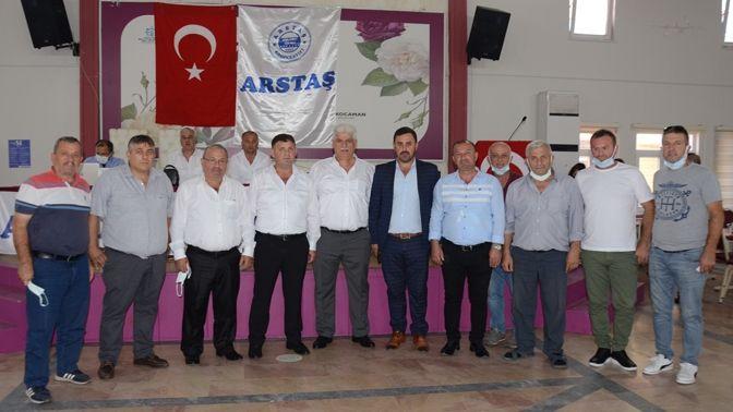 Arstaş Kooperatifinde Başkan Şükrü Aslan güven tazeledi