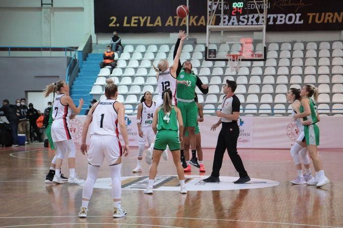 İzmitli Periler  Beşiktaş'ı devirdi: 83-72