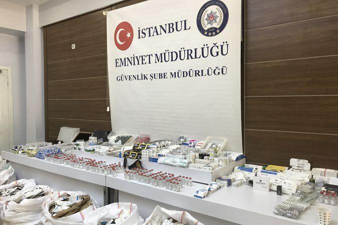 Sahte Covid-19 ilaç operasyonu: 4,5 milyon TL'lik sahte ilaç ele geçirildi