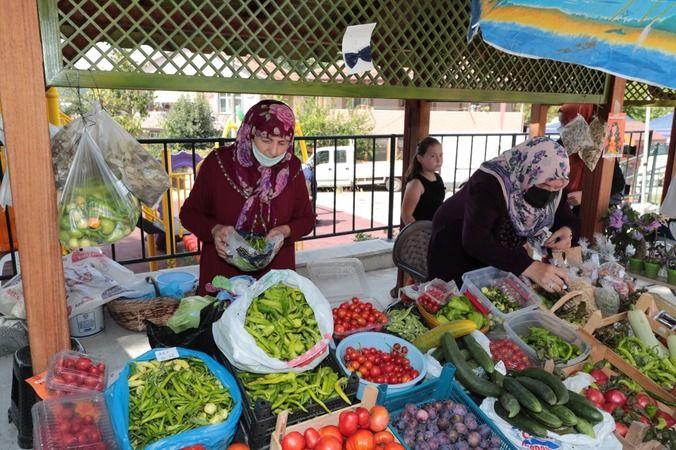 Karaabdülbaki Üretici Pazarı sosyal medyada