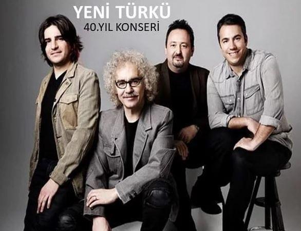 Yeni Türkü'nün 40. Yıl Konseri, İroni Yapım'ın organizasyonuyla Kocaeli Marmara Koleji'nde gerçekleşecek!