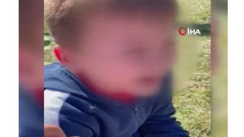 Oğluyla kavga eden çocuğa dehşeti yaşattı: O anları da kayda aldı