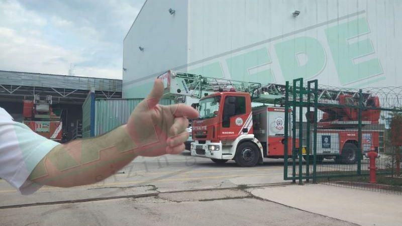 Kartepe'de yangın paniği! DEVA İlaç Fabrikası'nda çıkan yangın korkuttu!
