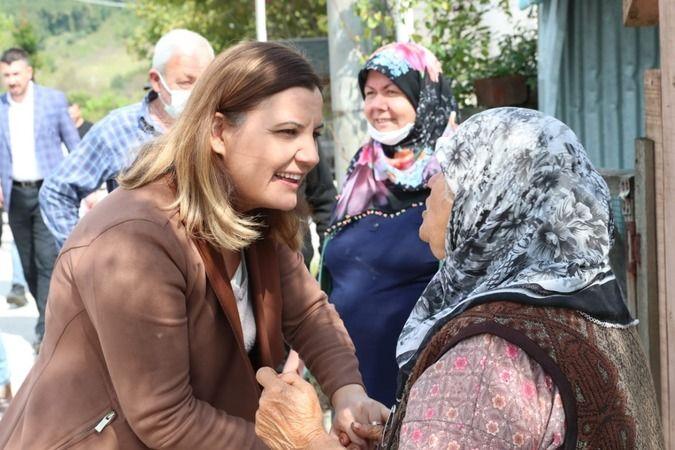 Hürriyet  Dağköy'de önce inceleme yaptı sonra halkla bir araya geldi