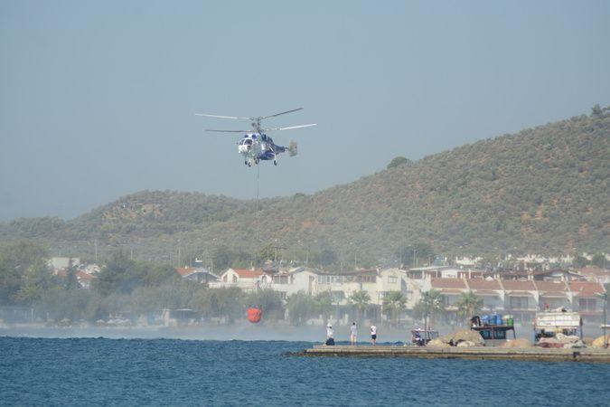 Kazdağları yangını 3,5 milyon litre su ile söndürüldü