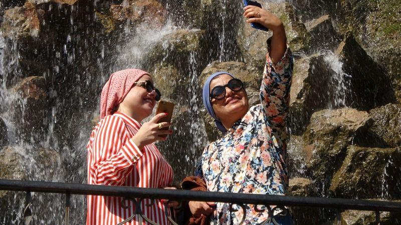 İstanbul'un yanı başındaki Maşukiye, turistlerin akınına uğruyor