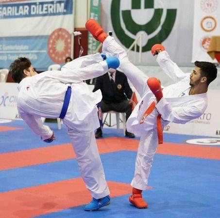 Milli sporcunun 13'üncü Türkiye şampiyonluğu