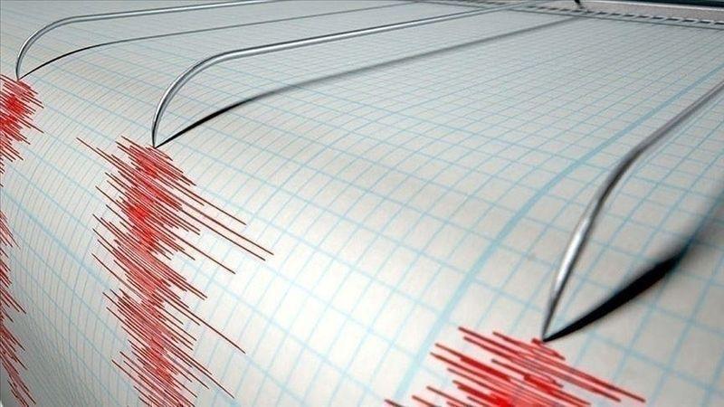Ege Denizi açıklarında 5,7 büyüklüğünde deprem