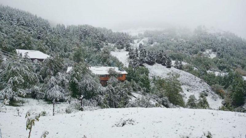Artvin'de kar yağdı, yaylalar beyaza büründü